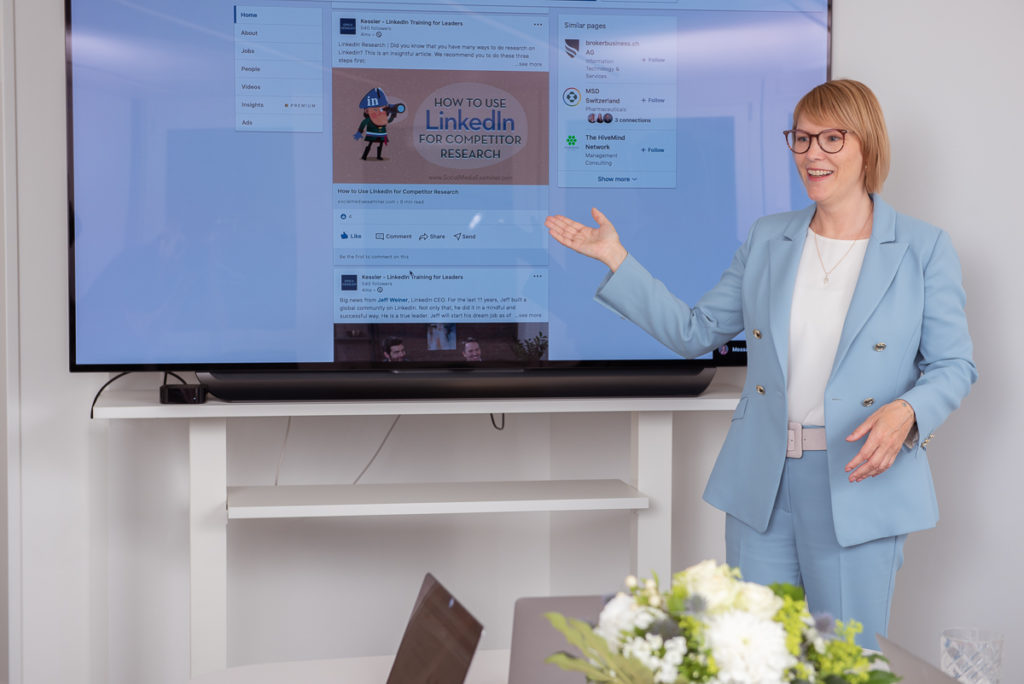 erica kessler speaking speaker linkedin personal branding business branding company page leader