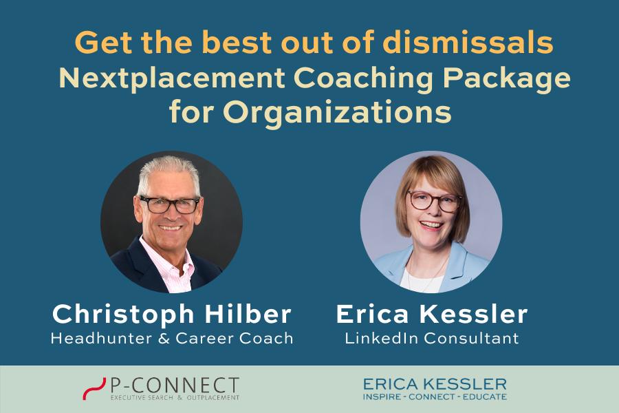 Career Kick Start for organizations Nextplacement coaching package Erica Kessler Christoph Hilber